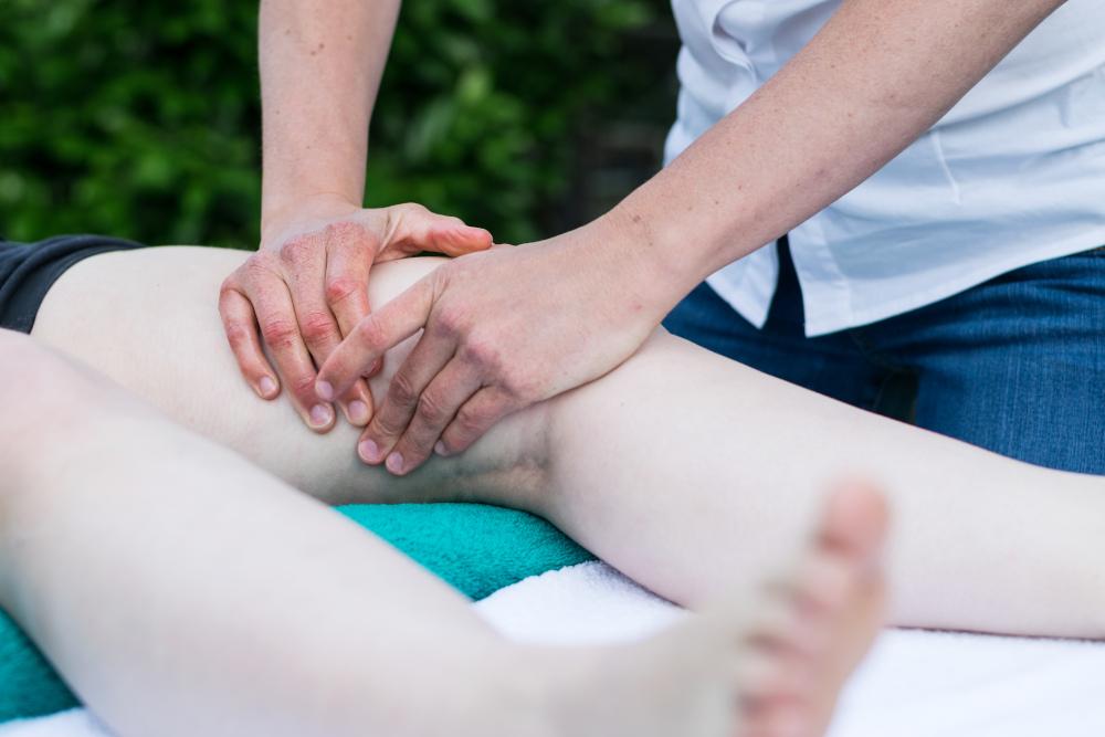 Fysiotherapie op sportevenement, fysiotherapie knieklachten