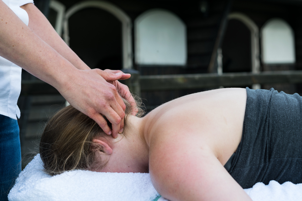 sportmassage nek, regio Amersfoort